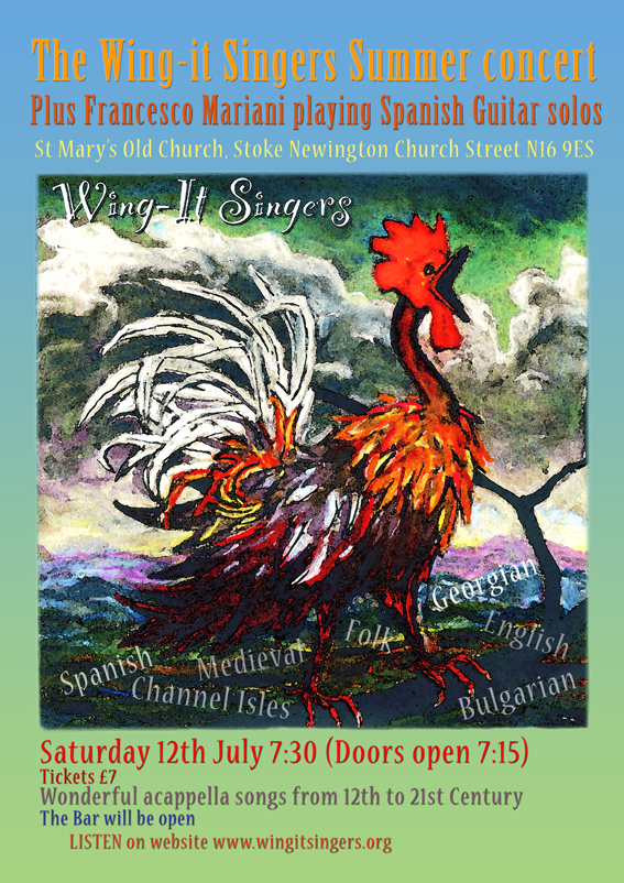 st mary's old church | Wing-it Singers