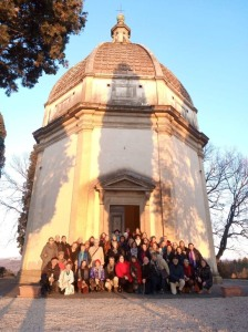 The 'Cupula' - site of our rehearsal