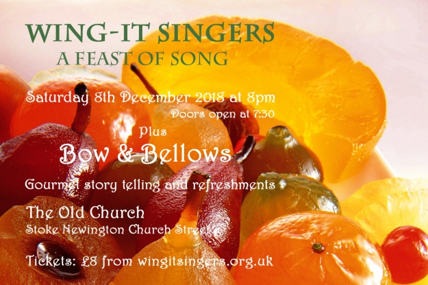 Wing-It Singers - A Feast of Song flyer